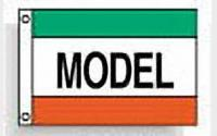 Model (green white red)