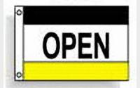 Open (black white yellow)